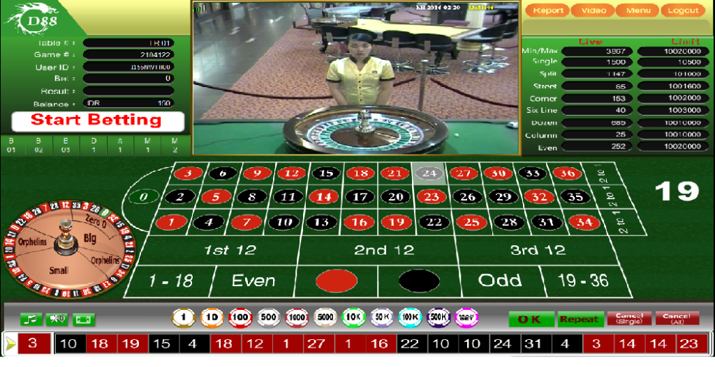 Tampilan roulette gd88 1024x527 - CARA DAFTAR LIVE CASINO ROULETTE