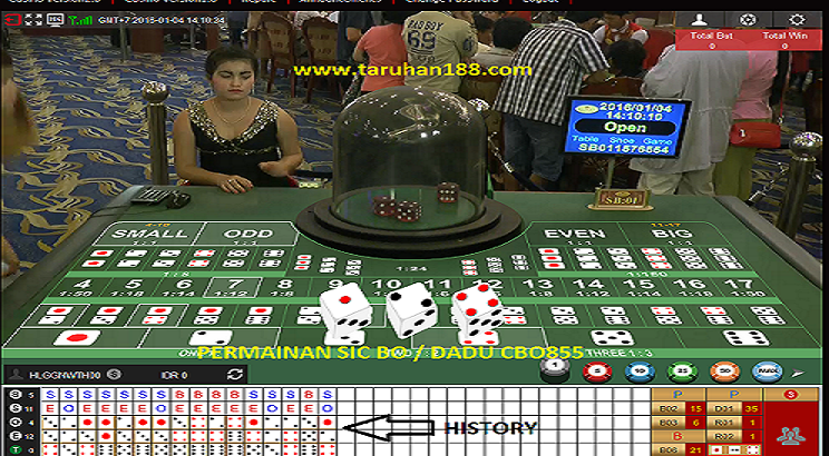 sic bo (dadu) casino online