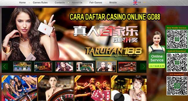 GD88 - CARA DAFTAR CASINO ONLINE GD88