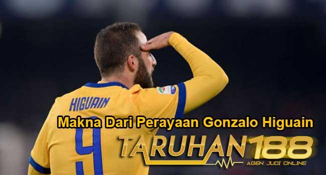 Makna Dari Perayaan Gonzalo Higuain