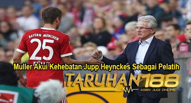 Muller Akui Kehebatan Jupp Heynckes Sebagai Pelatih