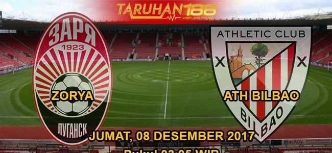 Prediksi Bola Zorya vs Atletico Bilbao 08 Desember 2017
