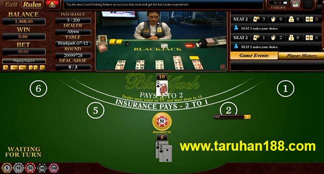 Live Casino 2 - Cara Taruhan Sbobet Casino