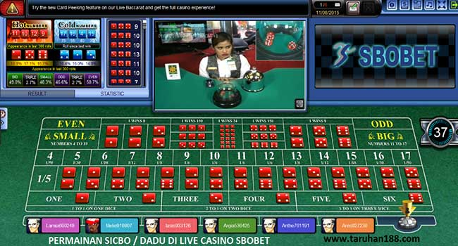 Live Casino 3 - Cara Taruhan Sbobet Casino