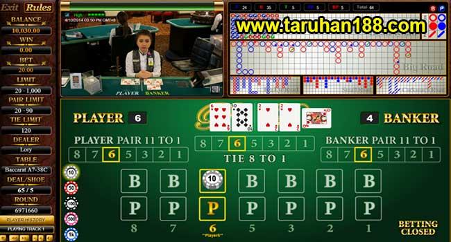 Live Casino - Cara Taruhan Sbobet Casino