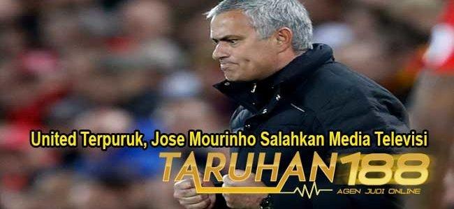 United Terpuruk, Jose Mourinho Salahkan Media Televisi