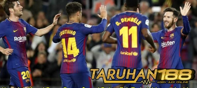 Hat-trick Messi Bawa Barca Samai Rekor Tak Terkalahkan di La Liga