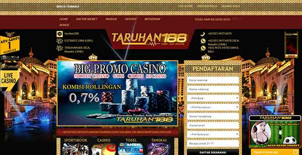 Website Taruhan188 Casino - Cara Daftar Judi Casino GD88 Lewat HP